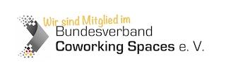Wir sind Mitglied im Bundesverband Coworking Spaces Deutschland (BVCS)
