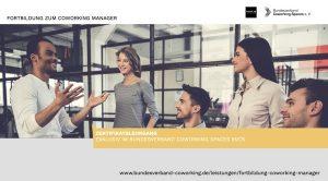 Infobroschüre Fortbildung Coworking Manager