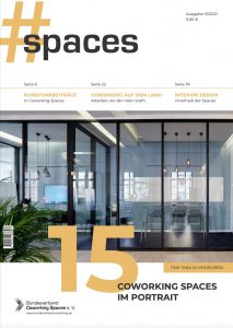 Cover #SPACES Magazin 01/2021