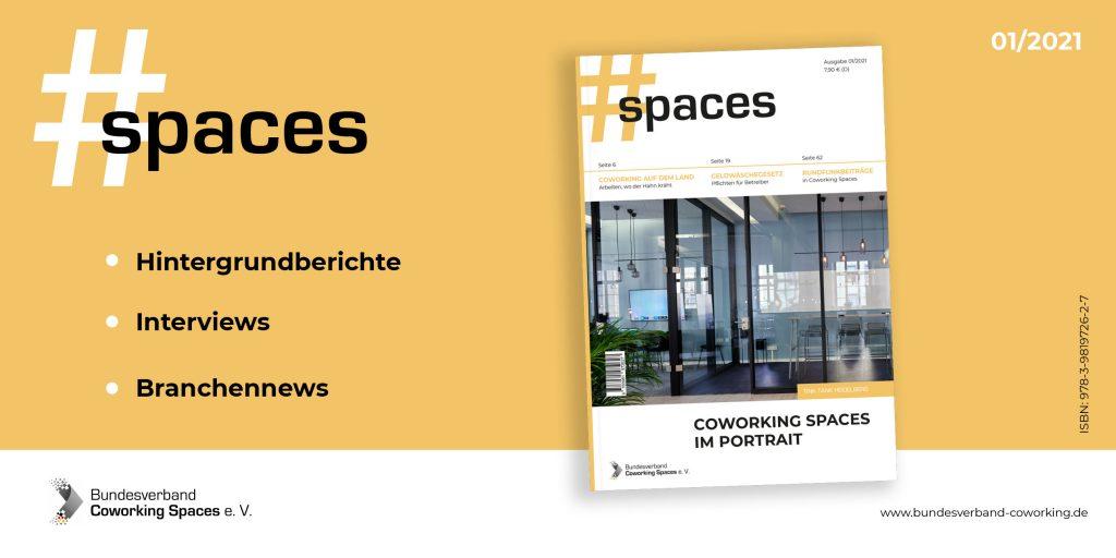 #SPACES Das Magazin - Vorschau Ausgabe 01/2021