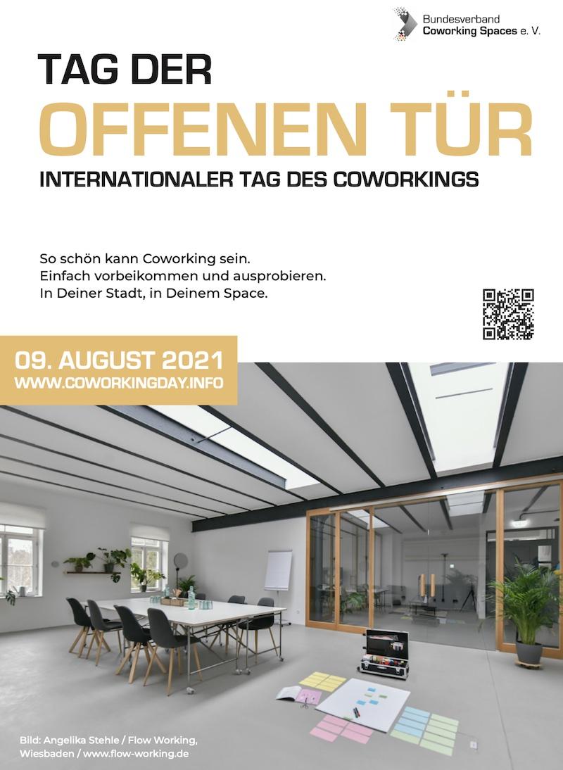Plakat International Coworking Day